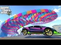 THE MOST AMAZING STUNTS EVER!!! | GTA 5 ONLINE BEST CUSTOM RACES SHOWCASE #3