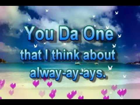 You Da One - Cody Simpson + Lyrics on screen
