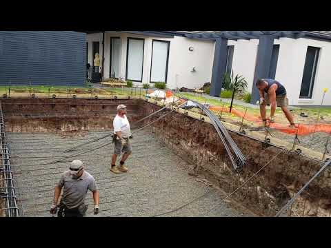 Swimming pool Steel fixing in Melbourne