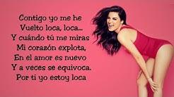 Loca (Letra) - Maite Perroni ft. Cali & el Dandee