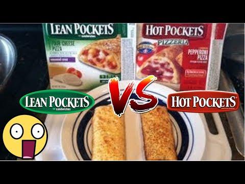 Hot Pockets VS Lean Pockets (Pizza) Review