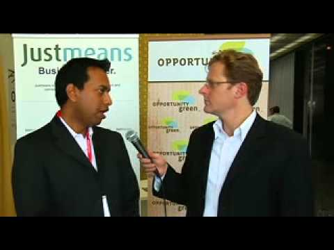 Sujeesh Krishnan, Head of Carbon Footprinting, The Carbon Trust at Opportunity Green 2010