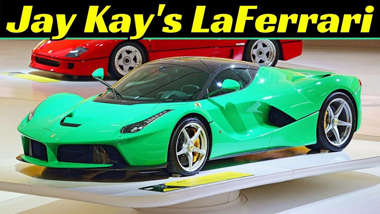 Jay Kay's Signal Green LaFerrari - Jamiroquai Hypercars Walkaround & Details at Museo Enzo