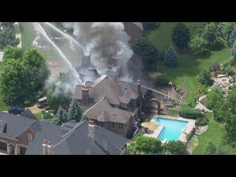 Fire in Washington Township