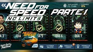 Need For Speed No Limits Android McLaren 720s Dia 7 El Ritual Endemoniado Parte 1
