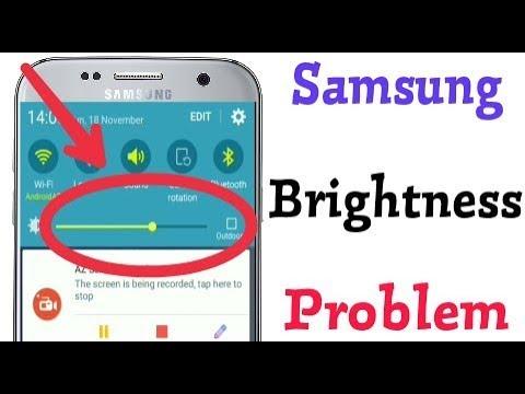 Samsung J2 - How To Fix Brightness Problem Solve Display