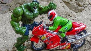 Trucks, crane trucks, fire trucks, motorcycles, green giants A444V - Toys for kids
