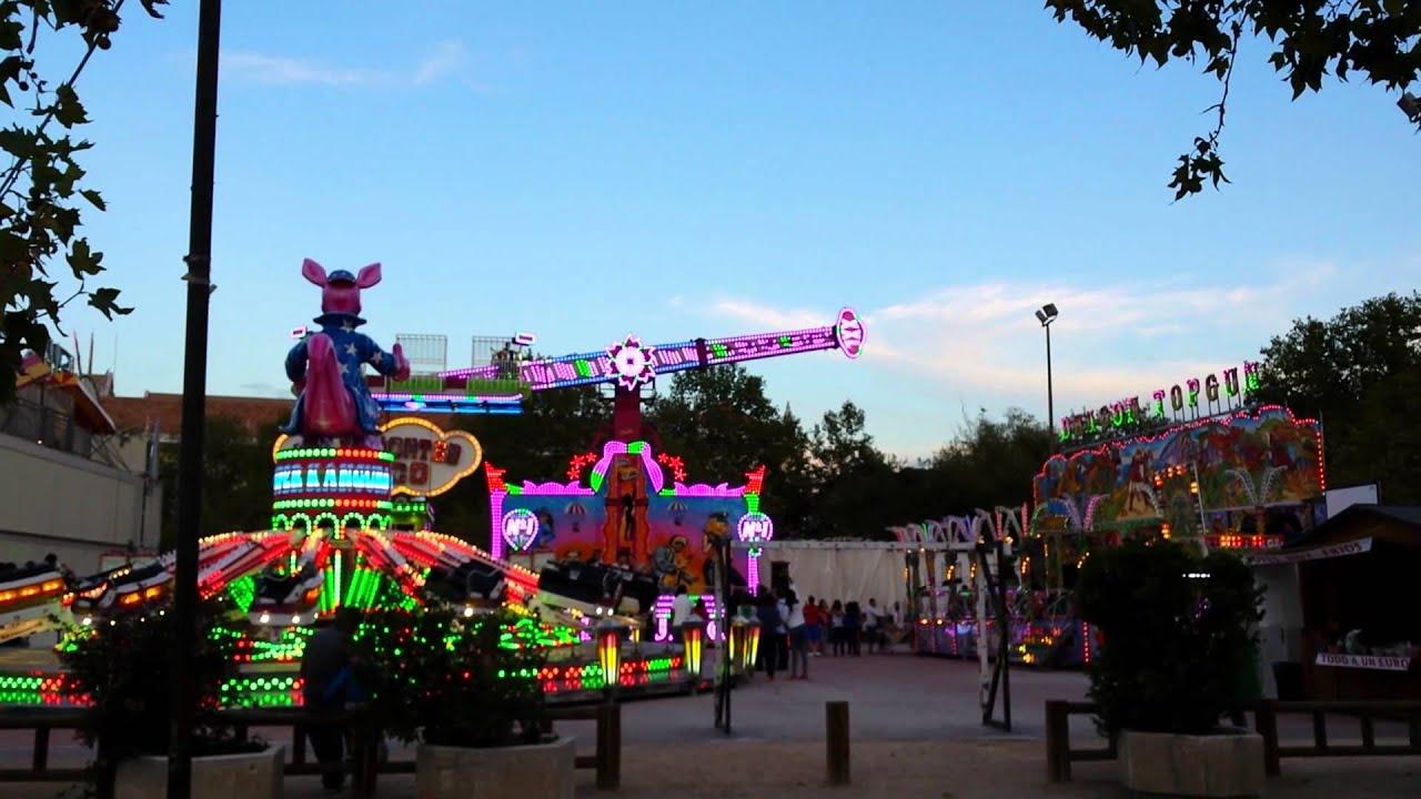 Feria Barrio Chamartín 2014 ( Madrid ). Fiestas de San Miguel. - YouTube