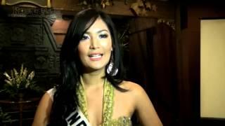 Maria Selena Bawa Kostum Garuda ke Miss Universe
