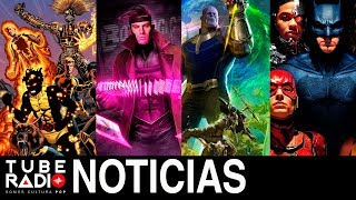 Tube Radio: New Mutants, Gambito, Marvel-Con, Vengadores Infinity War, Justice League.