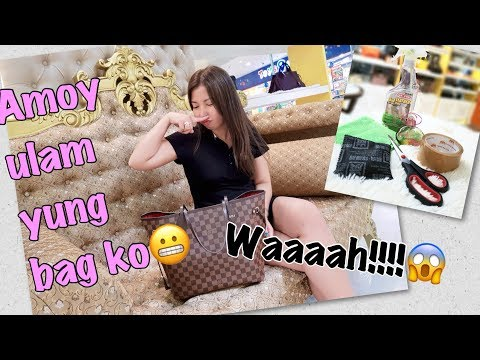 How To Clean and Remove Bad Odor in Louis Vuitton Canvas Bag