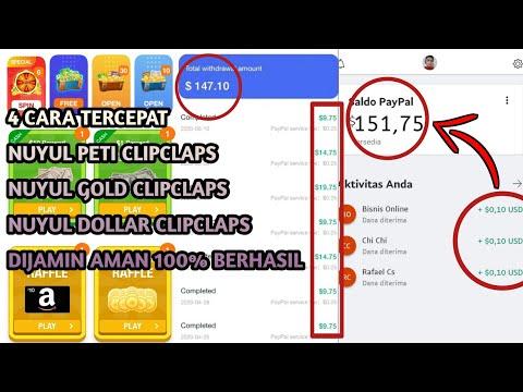 4 Cara Tercepat Dapatkan Uang Di Aplikasi ClipClaps | Cara Nuyul ClipClaps Terbaru Dijamin 100% Aman