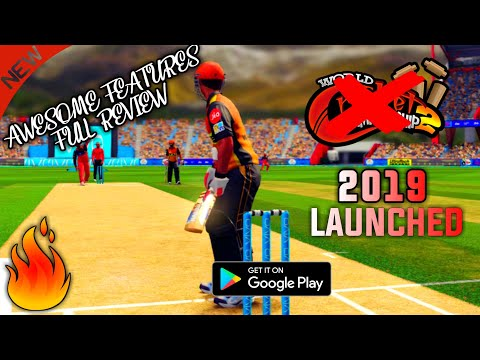Boom! आग लगा दी। Finally A Brandnew Cricket Game 2019  Launched For Android Full Review Hd Graphics