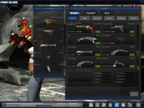 Point Blank Full Senjata Series Keren