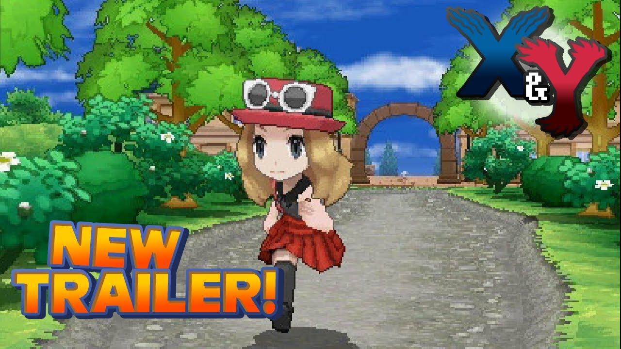 Nintendo 3ds Pokemon Games : Pokémon and y gameplay trailer nintendo ds youtube
