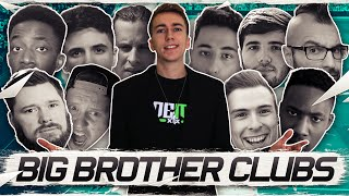 SO MANY YOUTUBERS! | BIG BROTHER CLUBS FIFA 16