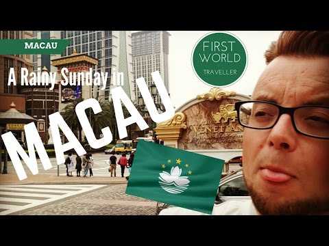 MACAU Travel Guide - a short visit to the Venetian Casino!