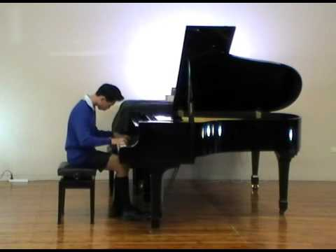 No.10 Lee Fan Ng Sonata in E minor Op.7 1st Movt Grieg
