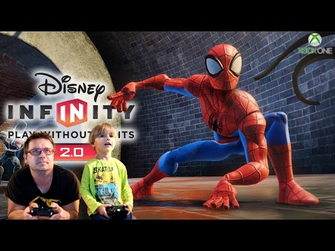Disney Infinity 2.0 Spiderman Play Set Game Play by Arcadius Kul and Sammie