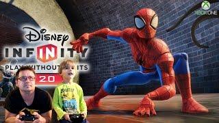 Disney Infinity 2.0 Spiderman Play Set Game Play by Arcadius Kul and Sammie