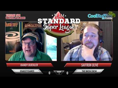 Team Standard Super League Week 2 - Brew Crew vs StarCityGames