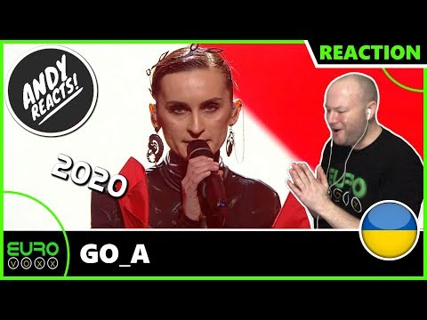 UKRAINE EUROVISION 2020 REACTION: Go_A - Solovey / Соловей | ANDY REACTS!