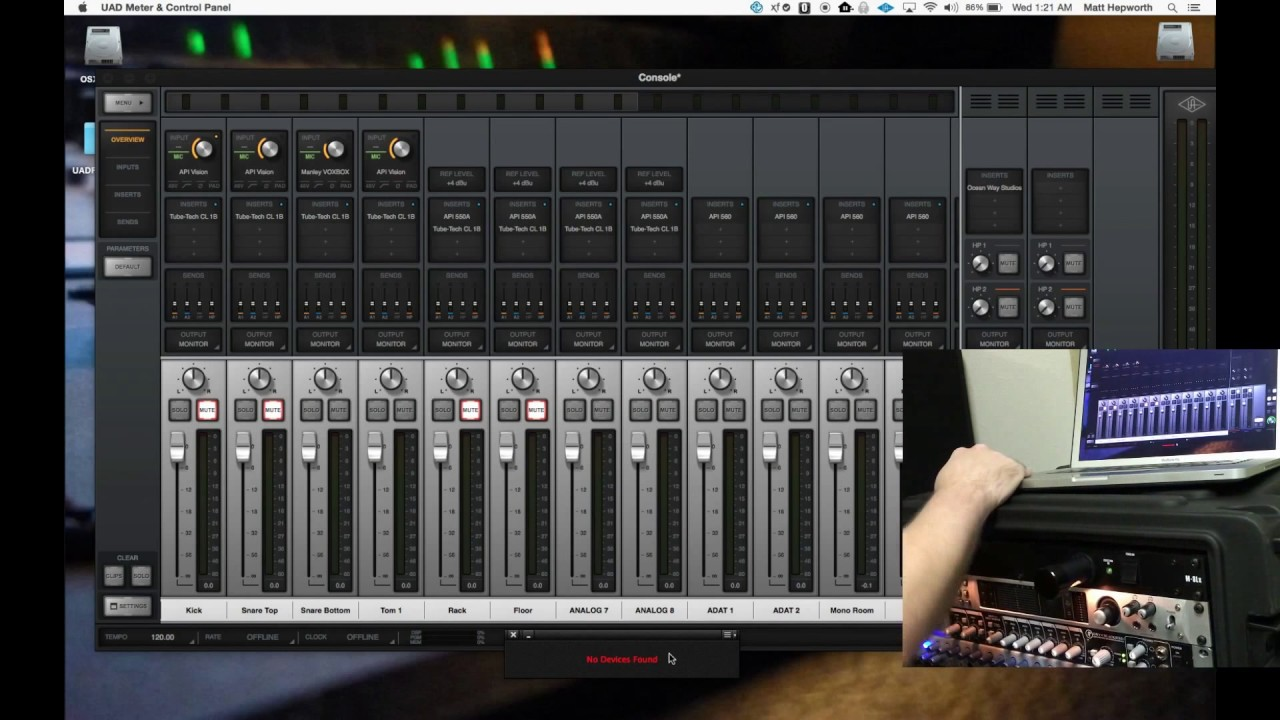 How to use UA Apollo w/ both Thunderbolt and FireWire to Swap ...