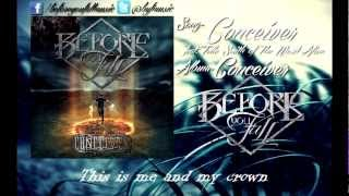 Before You Fall - Conceiver (Feat. Telle Smith of The Word Alive) w/ Download + Lyrics