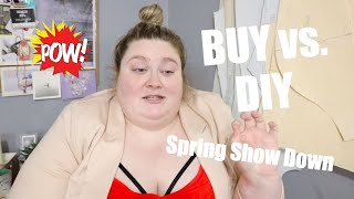 What To Buy vs. DIY This Spring | Plus Size Clothing
