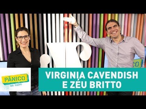Virginia Cavendish e Zéu Britto - Pânico - 29/08/17