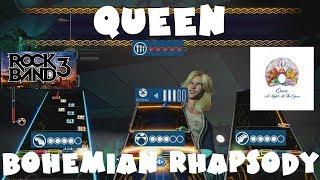 Queen - Bohemian Rhapsody - Rock Band 3 Expert Full Band