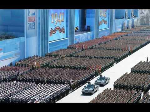 Rússia esnoba com seu poderio militar em desfile