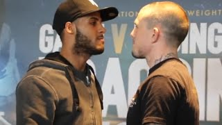 GAMAL YAFAI v SEAN 'SHOWTIME' DAVIS - HEAD TO HEAD @ PRESS CONFERENCE / BRAGGING RIGHTS