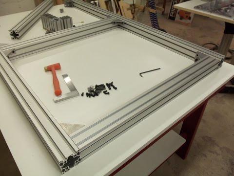 CNC Router build part 1