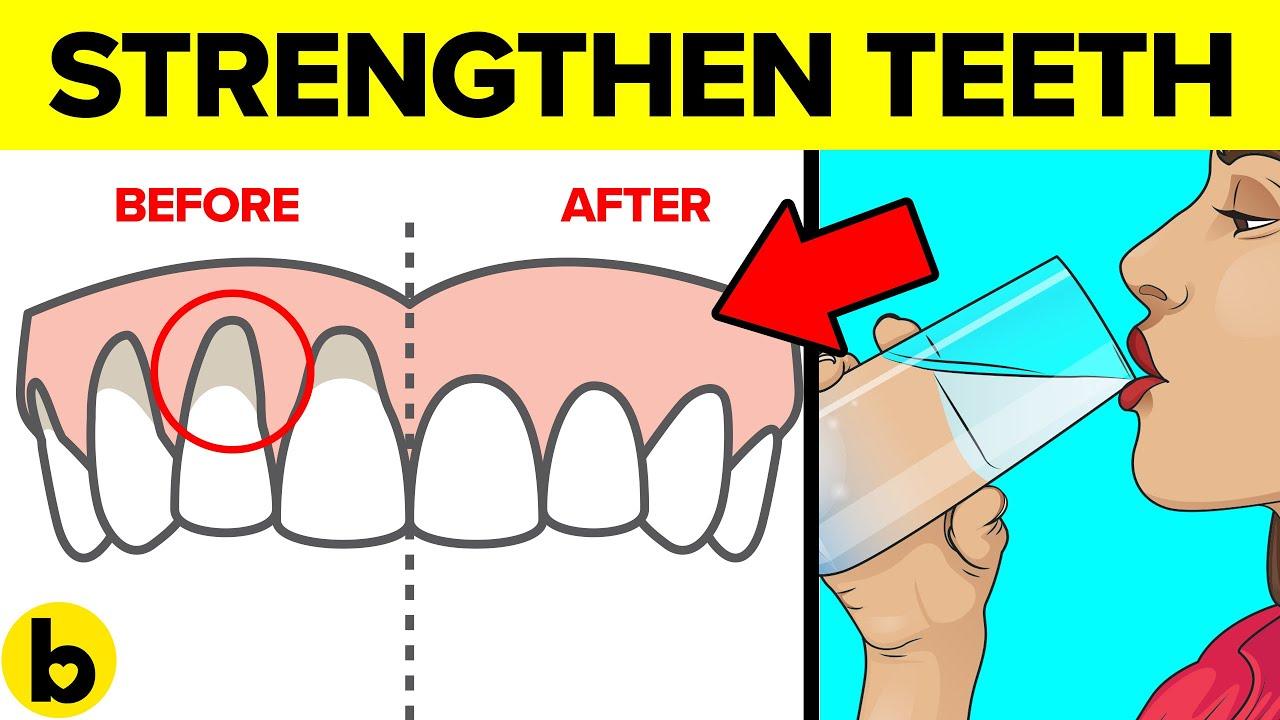 11 Ways to Strengthen your Teeth