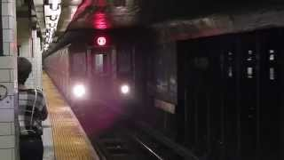 A little Hoyt Street-Fulton Mall (IRT Eastern Parkway Line) Action!