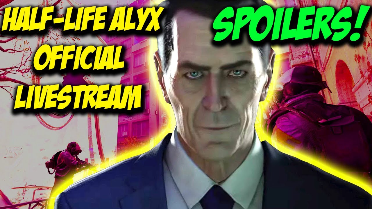 Half Life Alyx Full Game Stream