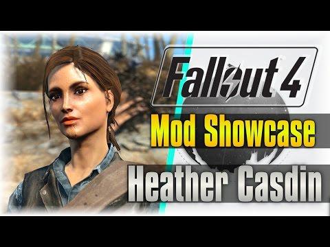 Best Companion Mod!!! | Fallout 4 Mod Showcase | Heather Casdin #1