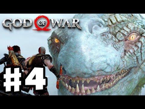 God of War - Gameplay Walkthrough Part 4 - The World Serpent! (God of War 4)