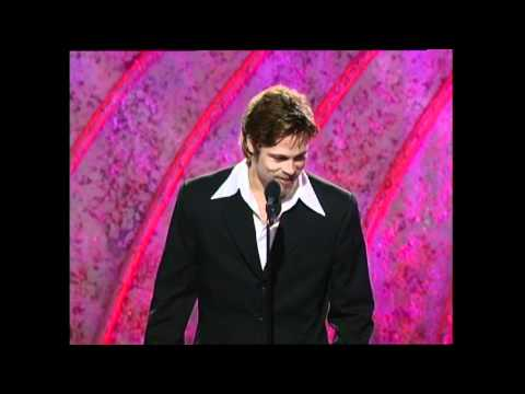 Brad Pitt Wins Best Supporting Actor Motion Picture - Golden Globes 1996