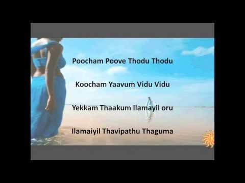 Velicha Poove (Lyrics on screen)