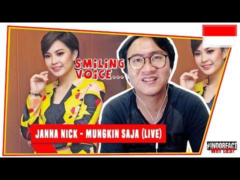 JANNA NICK - MUNGKIN SAJA (LIVE) #INDOREACT