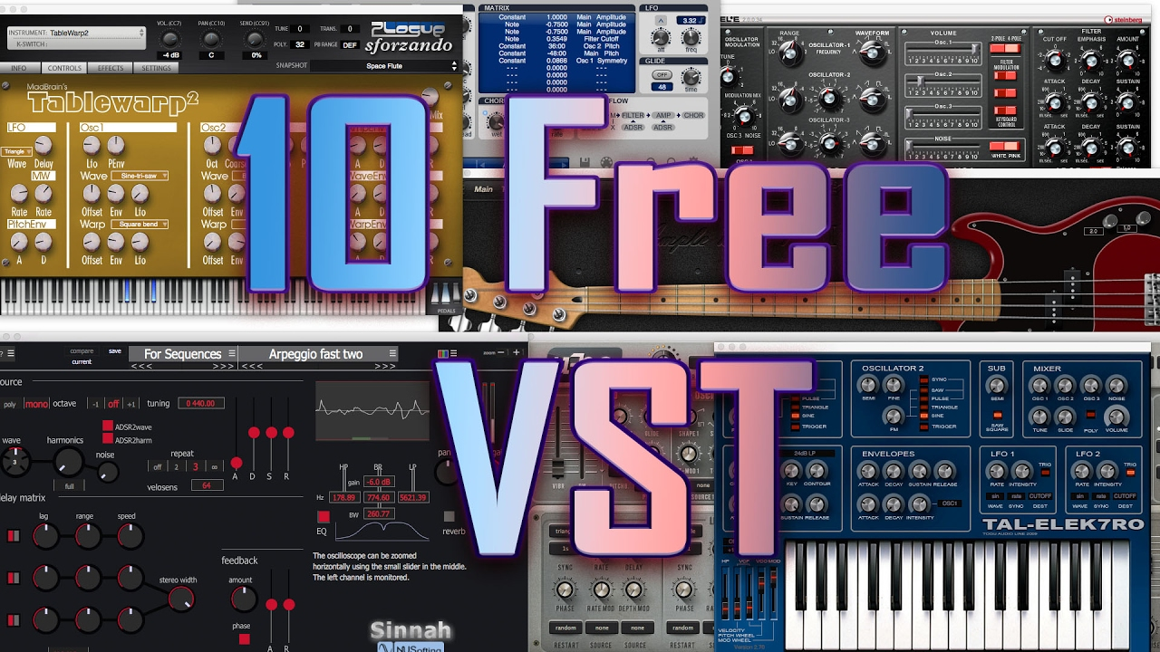 top 10 free synth