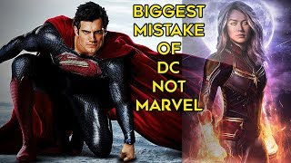 The BIGGEST Mistake That DC Made But Marvel Did NOT