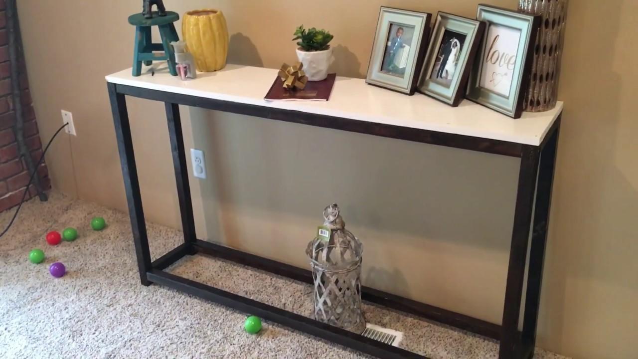 $700 Pottery Barn Console Table REPLICA for $20