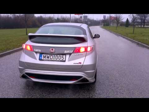Honda Civic Type R (FN2, Euro) Exhaust Sound Outside (DózeR)