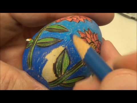 Pyrography Wood Eggs - Project #94