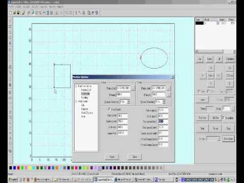 LaserCut 5.3 Software Tutorial Part9 (English) thumbnail