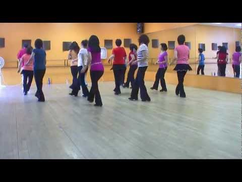 I Saw Linda Yesterday - Line Dance (Dance & Teach in English & 中文)