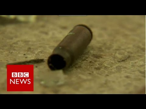 Inside Bangladesh terror attack cafe - BBC News